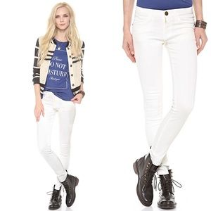 New Current Elliot Coated Ankle Skinny Jeans
